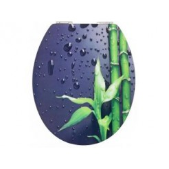 Cornat KSDSC304 Bamboo Acryl WC bril Softclose 130-180 mm