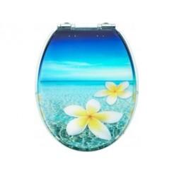 Cornat KSDSC336 Tropical Acryl WC bril Softclose 110-175 mm