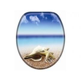 Cornat KSDSC534 Snail Houten WC bril Softclose 90-160 mm