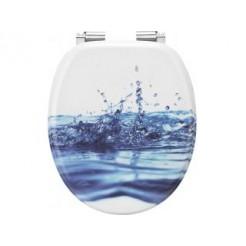 Cornat KSDSC540 Wasser Houten WC bril Softclose 90-160 mm